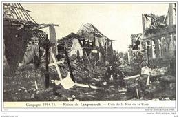 LANGEMARK (En Ruines) Rue De La Gare - Langemark-Poelkapelle