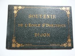 PETIT ALBUM De 18 Vues De L'Ecole St Dominique à DIJON - Photographs