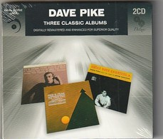 Cd  DAVE PIKE  Three Classic  Albums  2 CD Etat: TTB Port 150 GR - Jazz
