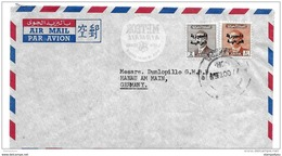99 - 46 - Enveloppe Envoyée De Baghdad En Allemagne 1959 - Irak