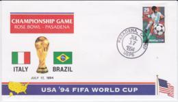 USA Cover 1994 FIFA World Cup Football - Pasadena Italy Vs Brazil (G101-14) - Copa Mundial