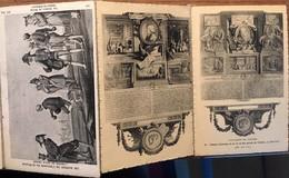 22 CPA, Les Maîtres De L'Estampe,, L'oeuvre De Baudouin, De Moreau, Fragonard, Mallet, Lancret Etc Et Graveurs Divers - Pittura & Quadri