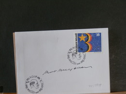 78/995A  FDC  BELGE  SIGNATURE  ROB BUYTAERT - 1991-00