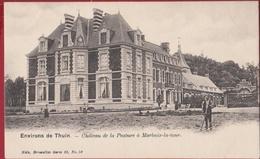 Environs De Thuin Château De La Pasture à Marbaix-la-Tour Ham-sur-Heure-Nalinnes Kasteel CPA  (En Très Bon Etat) - Ham-sur-Heure-Nalinnes