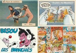 Lot De 40 Cartes Humoristiques - 5 - 99 Postcards