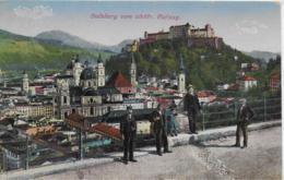 AK 0295  Salzburg Vom Elektrischen Aufzug Aus Um 1924 - Salzburg Stadt