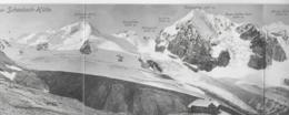 AK 0295  Panorama Von Der Schaubach-Hütte - Dreifach Faltkarte Ca. Um 1910-20 - Bolzano
