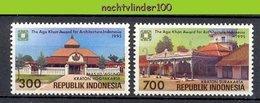 Mgm1660 ARCHITECTUUR GEBOUWEN AGA KHAN AWARD INDONESIAN ARCHITECTURE BUILDINGS INDONESIA 1995 PF/MNH - Arquitectura