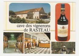 84 Rasteau Vers Vaison La Romaine Cave Des Vignerons Bouteille Côtes Du Rhône Caveau Dégustation Embouteillage Chais Vin - Vaison La Romaine