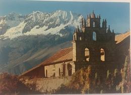 (631) Peru - Tiobamba - Church With Snowcovered Mt. Chicon - Pérou