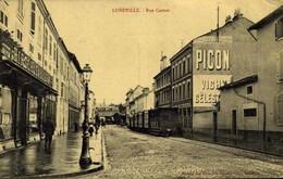 54 LUNEVILLE . La Rue Carnot  / A 530 - Luneville