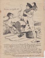 TRES RARE DESSIN PORNOGRAPHIQUE MILITARIA GUERRE 1914 1918 OPERATION DES DARDANELLES 1915 PORNO PROPAGANDE SODOMIE - 1914-18