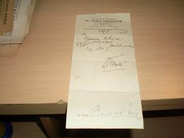 Recipe Recept Dr Herz Kinstler  Specialista I Operator Za Bolesti Ucha Nosa I Grla 1926 - Facturas & Documentos Mercantiles