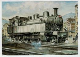 CESKA              TRAIN- ZUG- TREIN- TRENI- GARE- BAHNHOF- STATION- STAZIONI    2 SCAN  (NUOVA) - Treni