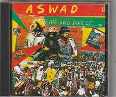 CD  ASWAD   Live And Direct  Etat: TTB Port 110 GR - Reggae