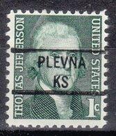 USA Precancel Vorausentwertung Preo, Locals Kansas, Plevna 841 - Vereinigte Staaten