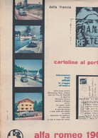 (pagine-pages)PUBBLICITA' ALFA ROMEO  Tempo1953/53. - Otros