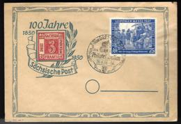 100 JAHRE SACHSISCHE POST - DRESDEN 1948 - - Allemagne