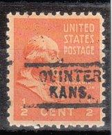 USA Precancel Vorausentwertung Preo, Locals Kansas, Quinter 729 - Vereinigte Staaten