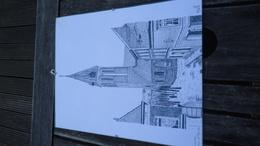 Lessines - Image Sous Verre De L'Eglise St. Pierre (année '94) (voir Détails) - Estampes & Gravures