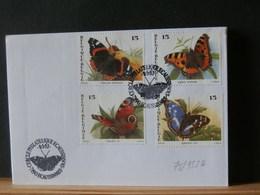 78/955A  FDC BELGE - Schmetterlinge