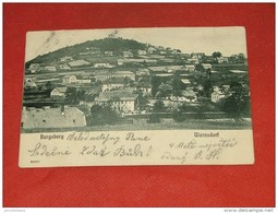 TCHEQUIE - REPUBLIQUE TCHEQUE -  WARNSDORF -  Burgsberg  -   1901   - - Tchéquie