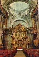 (638) Peru - Cuzco - Church  La Compania - Main Altar. - Pérou
