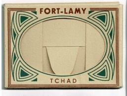 Pochette 10 Vues, 63 X 90 Mm - Tchad, Fort-Lamy, Dont Femme Seins Nus Avec Scarifications Sur Visage & Corps, Pariscoa - Tschad