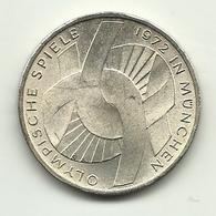 1972 - Germania 10 Mark J - Olimpiadi - [10] Commemorative