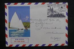 POLYNÉSIE - Enveloppe Touristique De Papeete Pour La Belgique En 1994, Affranchissement Plaisant - L 37819 - Lettres & Documents