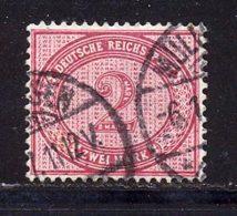 Allemagne Empire 1875 Yvert 43 (o) B Oblitere(s) - Usati