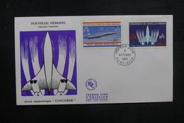 NOUVELLES HÉBRIDES - Enveloppe FDC 1968 - Concorde - L 37822 - FDC