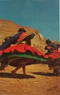 (644) Peru - Puno - Indian Dancers On A Festival - Hoepelrokken. - Pérou