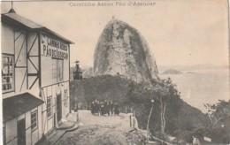 *** Bresil  ***   RIO DE JANEIRO  Caminho Aero Pao D'assucar - écrite TTB - Rio De Janeiro