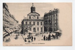 - CPA GENÈVE (Suisse) - Place De La Fusterie 1906 - Edition CHARNAUX 1299 - - GE Genève