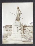 Fotografia Albumina - Monumento La Difesa Di Casale Di F. Porzio - Fine '800 - Foto