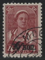 Russia / Sowjetunion 1939 - Mi-Nr. 698 Z Gest / Used - Ohne WZ / Unwmkd (V) - 1923-1991 UdSSR