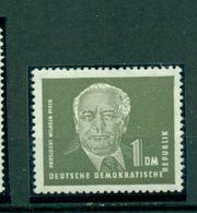 DDR, Wilhelm Pieck Nr. 325 Z Postfrisch **geprüft BPP - DDR