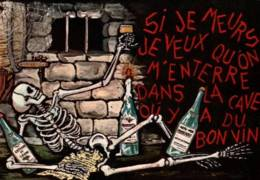 CPSM - HUMOUR - ILLUSTRATION RENE - Thème ALCOOL - Humor
