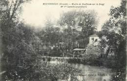 CPA 33 Gironde Mesterrieux Moulin De Neuffonde Sur Le Dropt Laroche Propriétaire - Francia