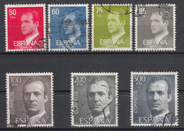 SPANJE - Michel - 1981 - Nr 2513/19 - Gest/Obl/Us - 1931-Aujourd'hui: II. République - ....Juan Carlos I