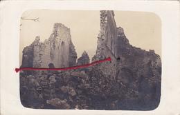 (08) - DONTRIEN Reste Von Kirche Carte Photo Allemande - Other Municipalities