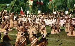 CPM - BORA-BORA - DANSE TAHITIENNE ... - Edition ... - Tahiti