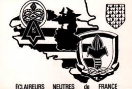 CPM - ECLAIREURS NEUTRES De FRANCE - Région OUEST BRETAGNE - Carte Illustrée  ... - Pfadfinder-Bewegung