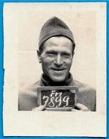 PHOTO Photographie Prisonnier 67 MULHAUSEN Bas-Rhin ** Guerre Camp De Prisonniers - Guerre, Militaire