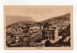 Rovereto (Trento) - Panorama - Viaggiata Nel 1939 - (FDC16475) - Trento