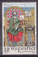 SPANJE - Michel - 1981 - Nr 2508 - Gest/Obl/Us - 1931-Aujourd'hui: II. République - ....Juan Carlos I