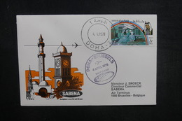 QATAR - Enveloppe 1er Vol Doha / Bruxelles En 1978 - L 37853 - Qatar