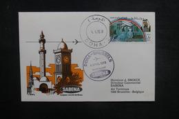 QATAR - Enveloppe 1er Vol Doha / Bruxelles En 1978 - L 37854 - Qatar