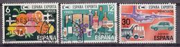 SPANJE - Michel - 1981 - Nr 2509/11 - Gest/Obl/Us - 1931-Aujourd'hui: II. République - ....Juan Carlos I
